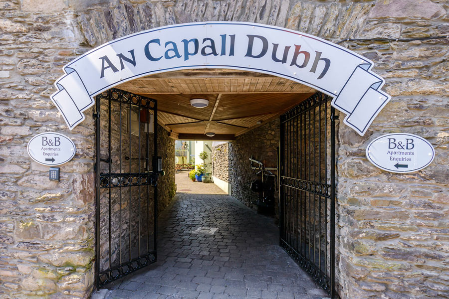 An Capall Dubh entrance Dingle