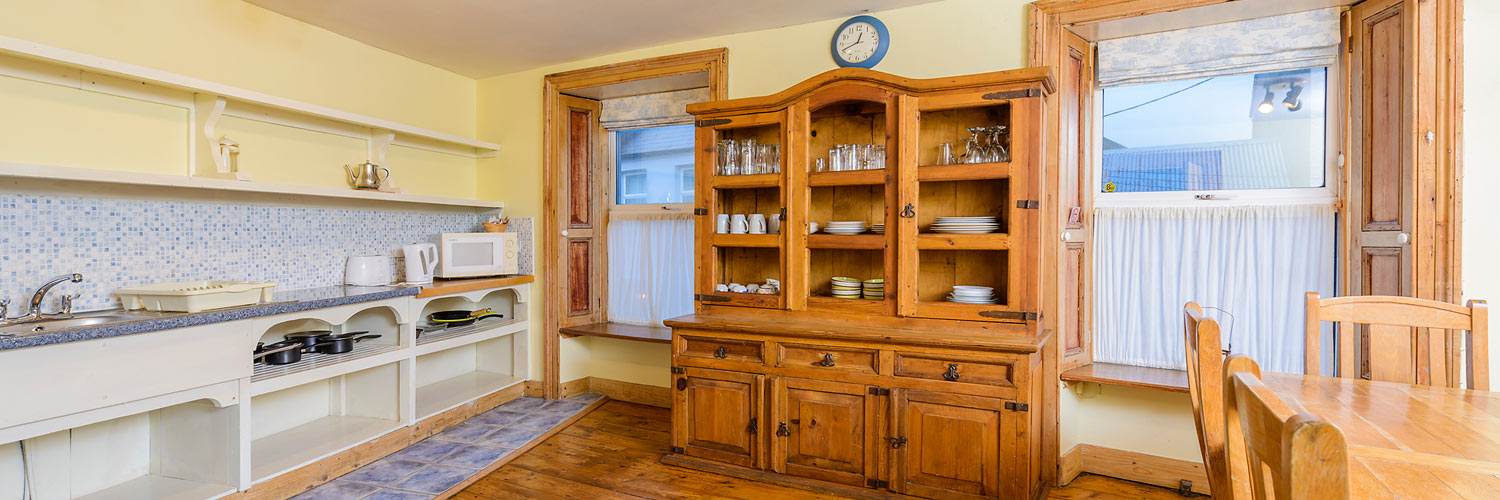 An Capall Dubh Archway kitchen
