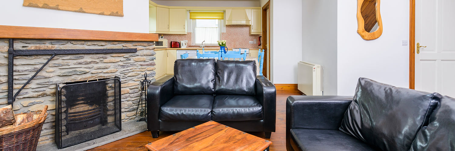 An Capall Dubh self-catering living room